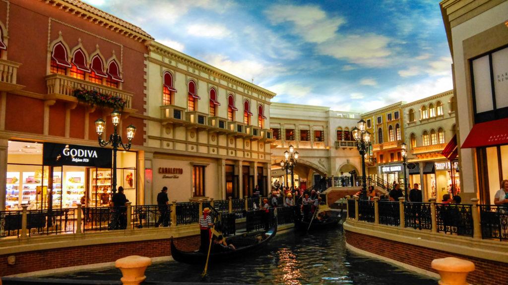 la Gondola in Las Vegas