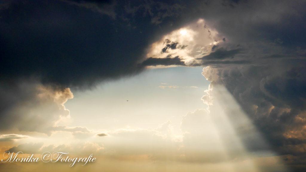 Gewitterwolken über Denver