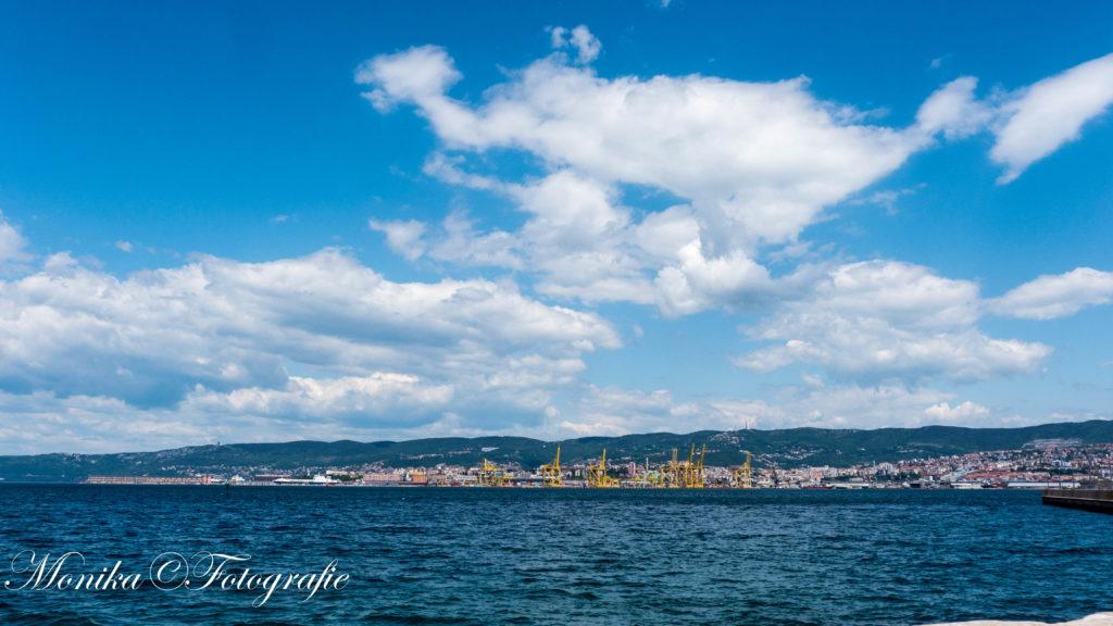 entlang der Küste von Triest nach Piran
