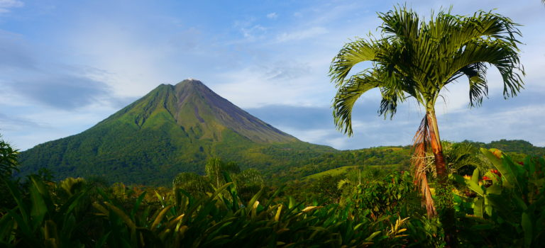 Kaffee, Vulkan und heiße Quellen