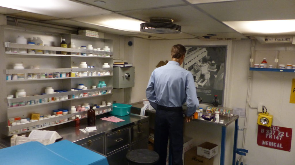 Labor und Apotheke