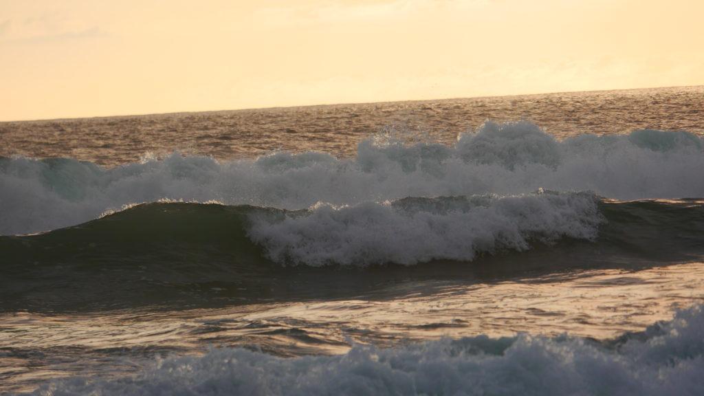 hohe Wellen