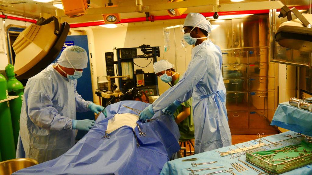 einer der Operationssäle