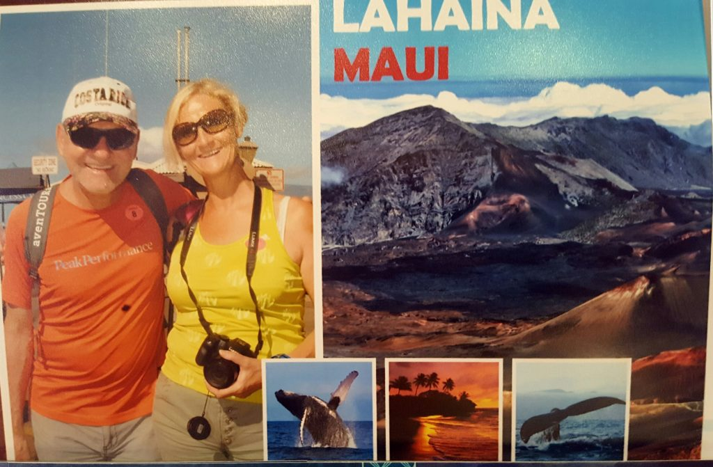 Empfang in Lahaina