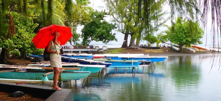 Regenwetter im Paradies#Papeete#Tahiti#