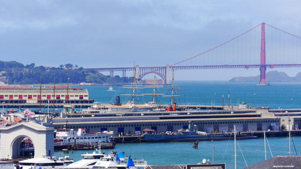 Übernachtung im Hafen von San Francisco