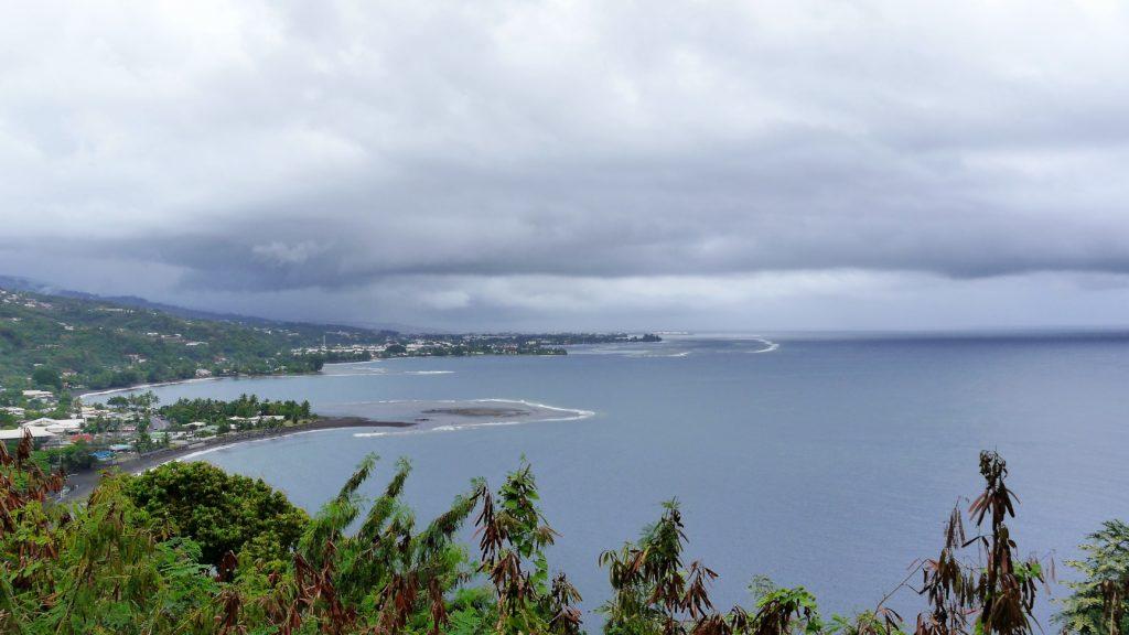 Aussicht vom One Tree Hill nach Papeete