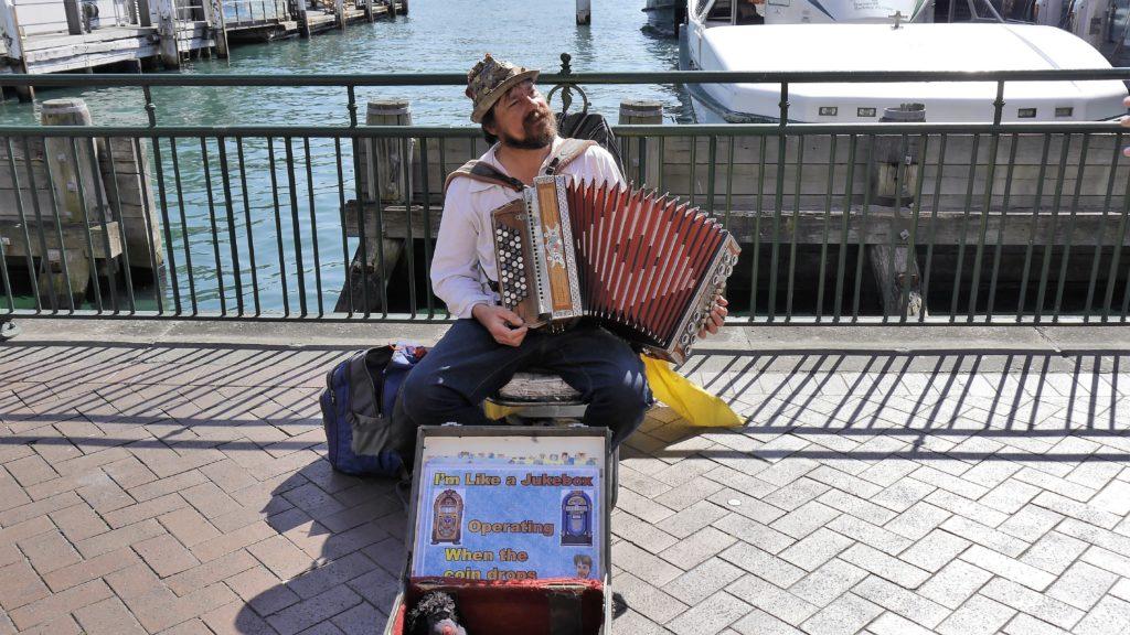 viele Auswanderer sind in Sydney anzutreffen