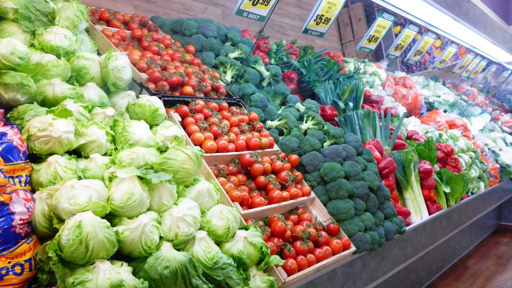 schönes frisches Gemüse