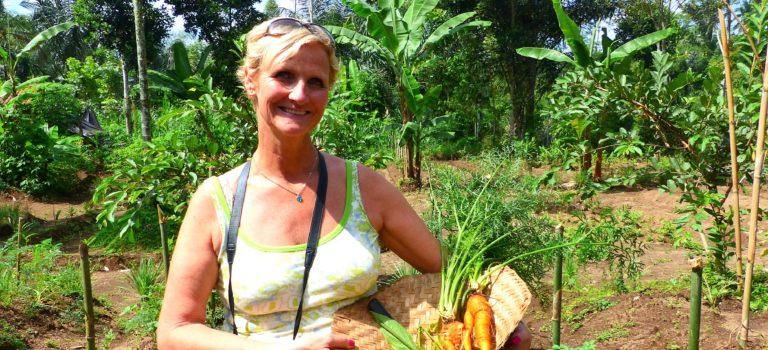 Kochen auf balinesisch#Organic Farm#Markt