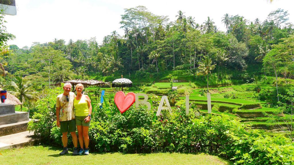 wir beide lieben Bali