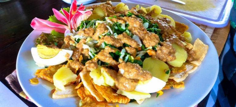 #typisch Indonesien#Gado-Gado#vegetarischer Gemüsesalat#