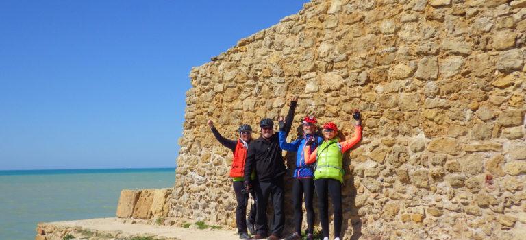 #Radausflug mit Freunden#Punta Secca#