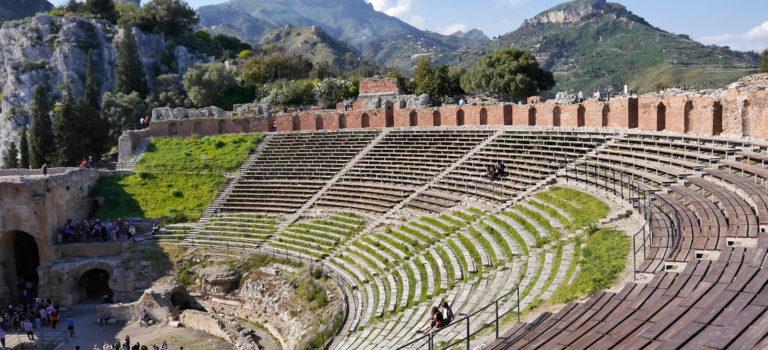 #Taormina#Theater# Kloster#Campingpause#