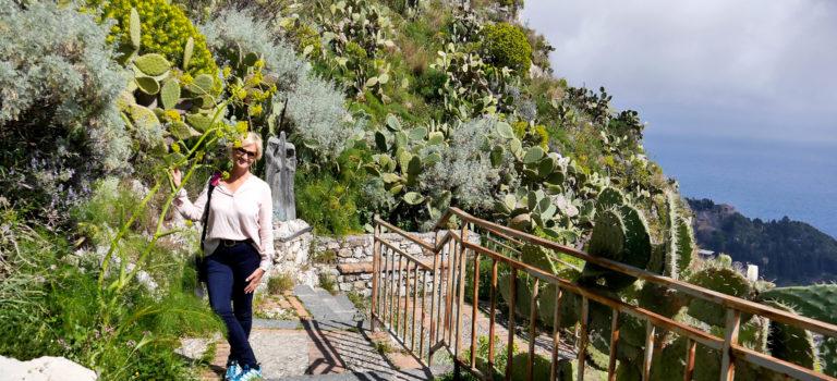 #Wandertag #San Domenico Palace#Taormina von oben#
