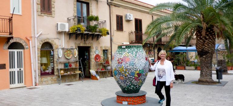 #Umleitung auf Italienisch#Keramikstadt Santo Stefano#