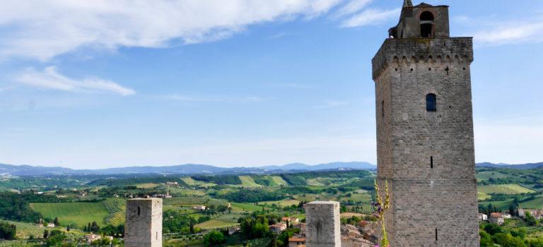 #Spannende Alternativroute nach San Gimignano#
