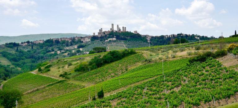 #Wanderung rund um San Gimignano#