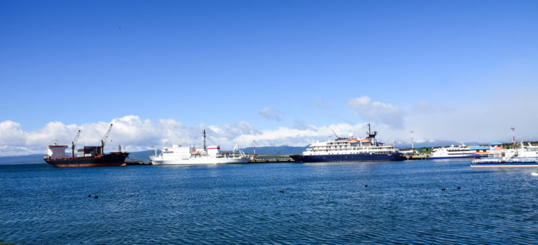 Es geht los, Start der Panamerikana in Ushuaia