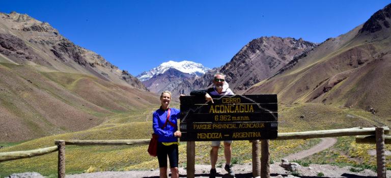 Aconcagua und Mendoza, von hohen Bergen und Wein
