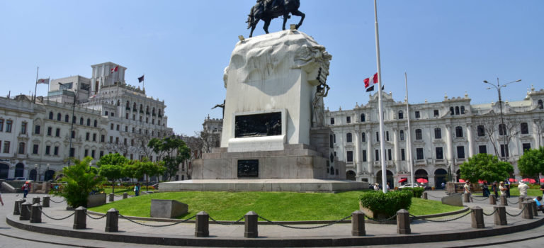 Millionenmetropole Lima