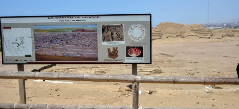Von alten Kulturen in  Peru