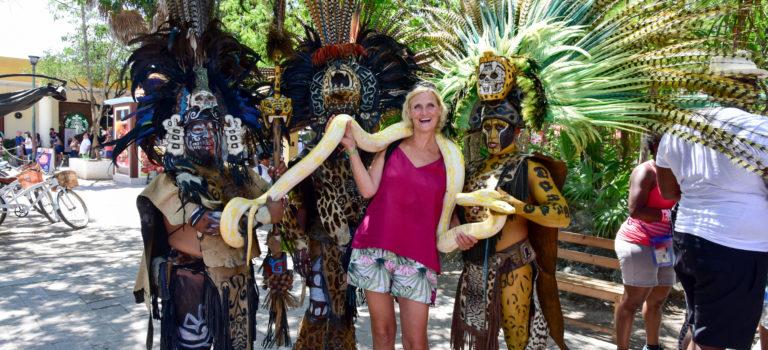 Tulum – keine Angst vor Schlangen und wilden Kriegern