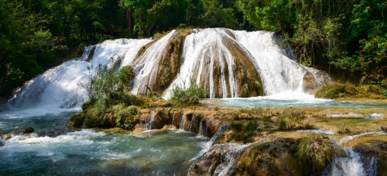 Erlebnis Wasserfall – Misol Ha und Agua Azul