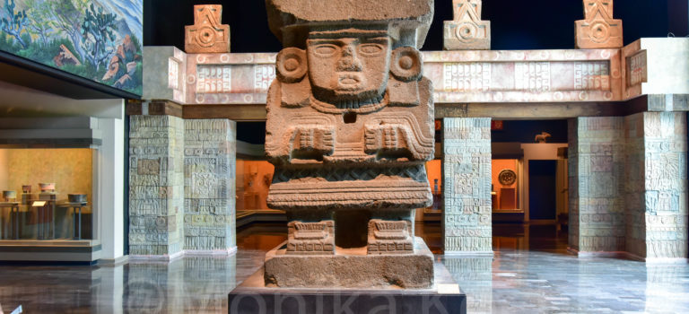 Anthropologisches Museum Mexico City
