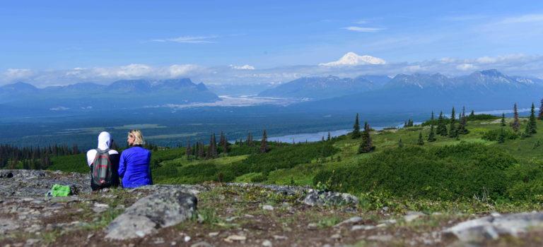 Denali Statepark und der wunderschöne Byers Lake – mit grandioser Aussicht auf den Berg der Berge