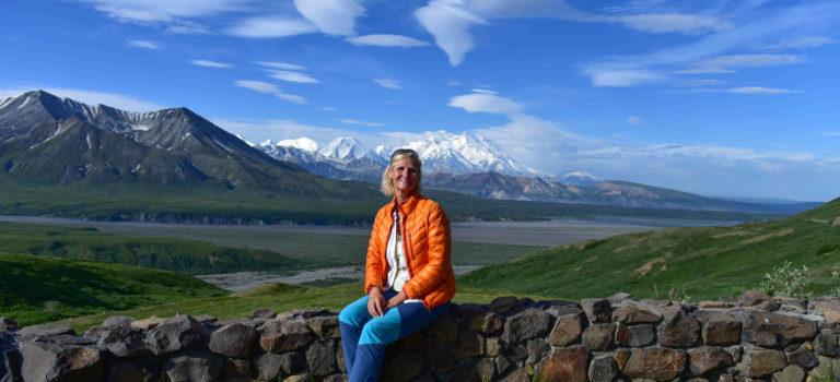 Denali Nationalpark und die  Fahrt zum Wonderlake