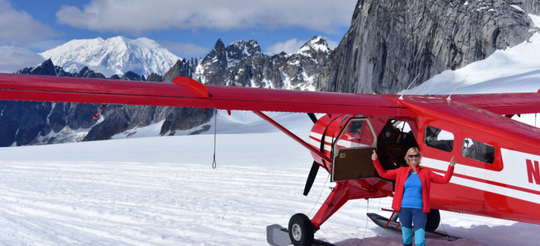 Gletscherlandung am Denali – Mt. McKinley