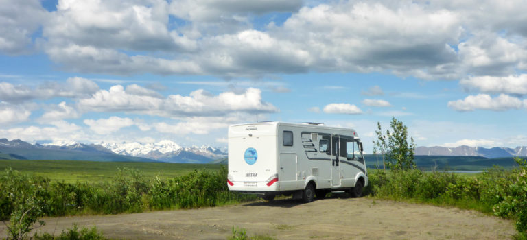 """Denali Highway – für uns ist dieser der """"Top of the World Highway"""""""