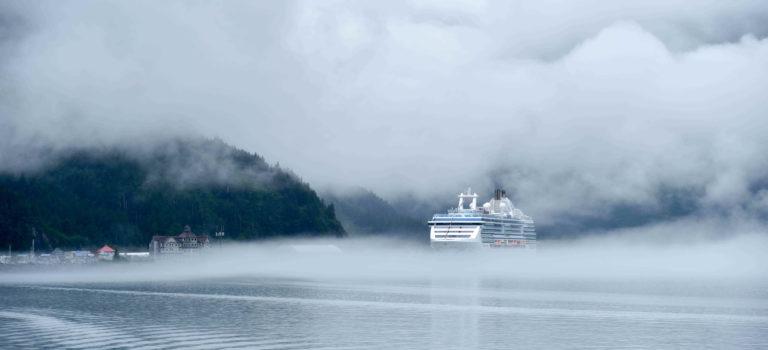 Nach Sonnenschein am Portage Lake im Nebel durch den Prince Willams Sound