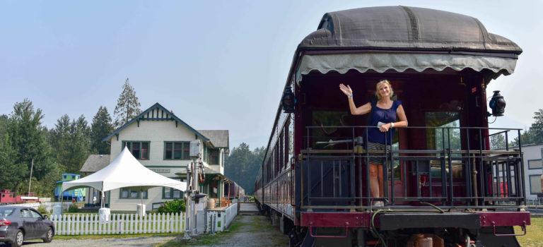 Reisepause in Squamish – Shannonfalls und Historisches Railway Museum