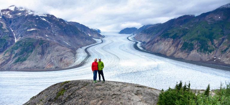 Salmonglacier –  beeindruckende Eislandschaft in Kanada