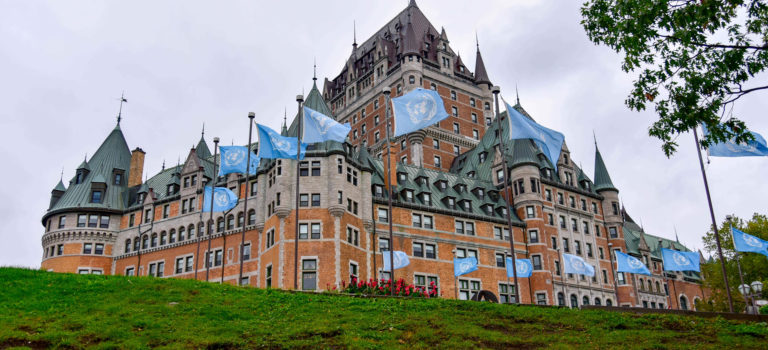 Das meist fotografierte Hotel der Welt steht in Quebec City – das Hotel Chateau Frontenac