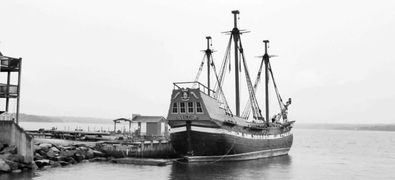 """Die Reise der """"HECTOR"""" nach Nova Scotia"""