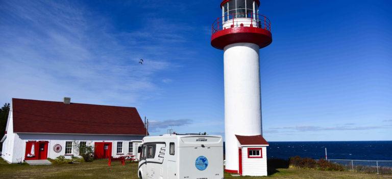 Von der Gaspesie Peninsula nach New Brunswick