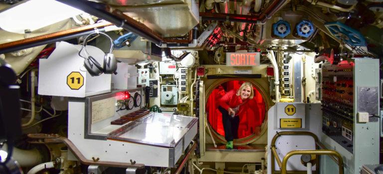 Entlang des St. Lorenz Stroms auf die Gaspesie Peninsula  und  Erlebnis U-Boot
