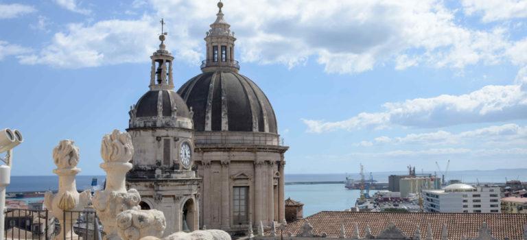 Catania, von Lava überrollt und immer wieder neu erstanden