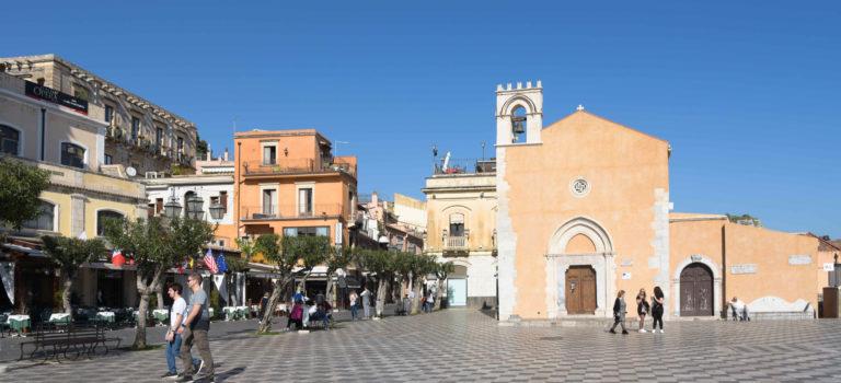 Der Preis ist heiß in Taormina