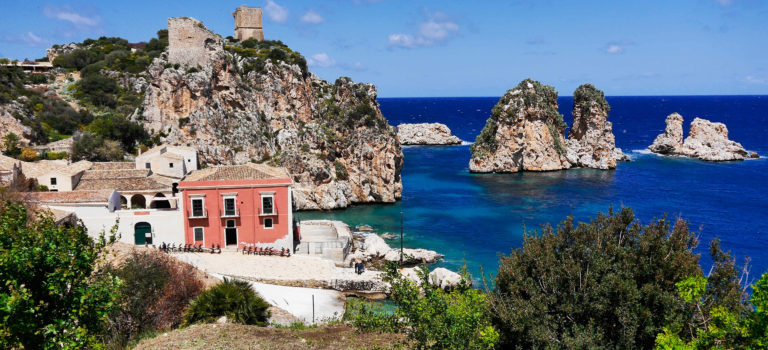 Scopello – ein Küstendorf mit 50 Einwohnern