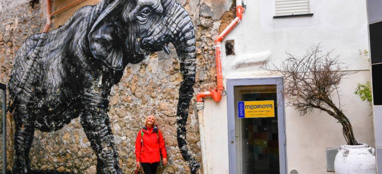 Favara  und die versteckte Kunstgalerie