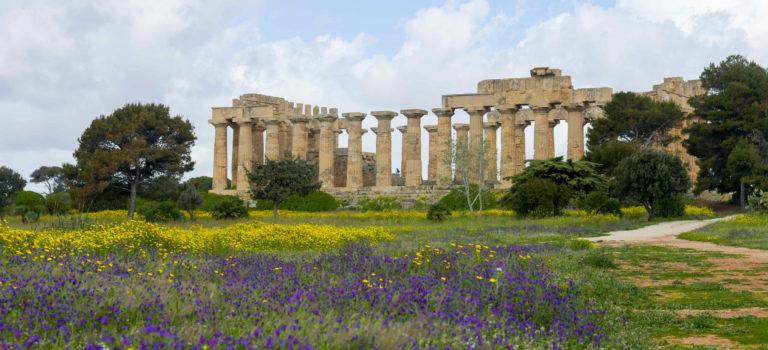 Die beeindruckende Tempelanlage in Selinunte