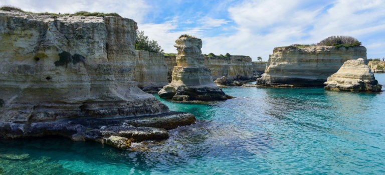 "Great Ocean Walk in ""Miniatur"" – Entlang des  spektakulärsten Küstenabschnitts Apuliens"