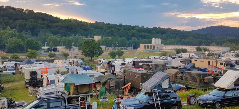 Der Traum vom Abenteuer -Offroadmesse in Bad Kissingen