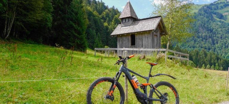 Biketour über Schönenbach und Sibratsgfäll im Bregenzerwald