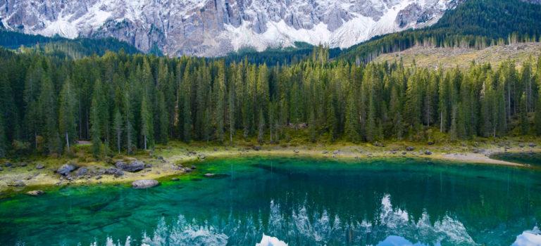 Karersee – ein grünen Spiegel für die Berge