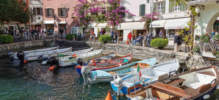 Limone und Riva del Garda